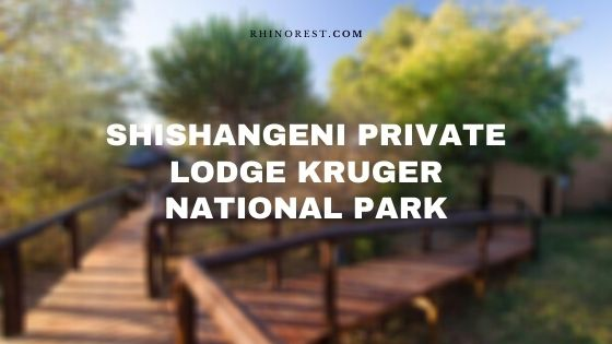 Shishangeni Private Lodge Kruger National Park – A Review